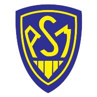 Plaque plexiglass département au choix et logo ASM Clermont Auvergne PAASM :